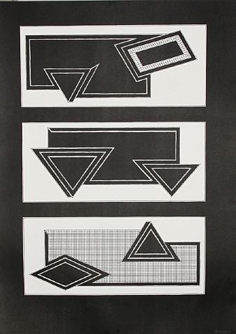 Black Stack, 1970 - Frank Stella