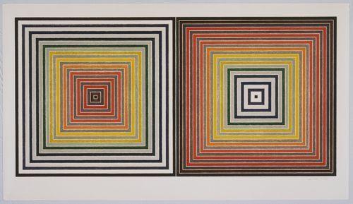 Double Gray Scramble, 1973 - Frank Stella