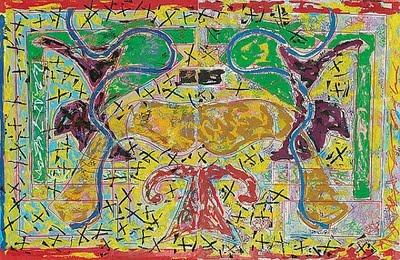 Pegasus Three Double, 1984 - Frank Stella