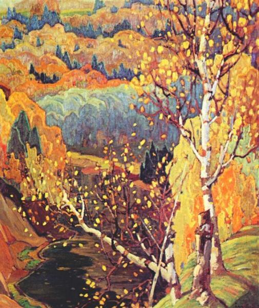 October Gold, 1922 - Franklin Carmichael