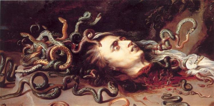 Head of Medusa, c.1617 - c.1618 - Frans Snyders