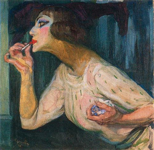Lipstick - Frantisek Kupka