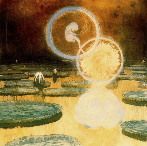 The Beginning of Life, c.1900 - Frantisek Kupka