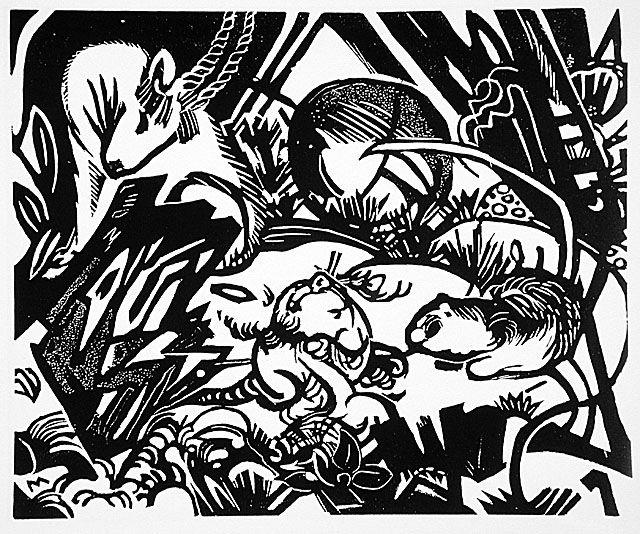 Animal legend, 1912 - Franz Marc