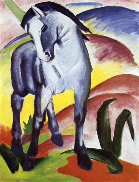 Blue Horse I, 1911 - Franz Marc