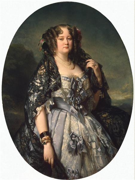 Portrait of Sophia Alexandrovna Radziwiłł, 1864 - Franz Xaver Winterhalter