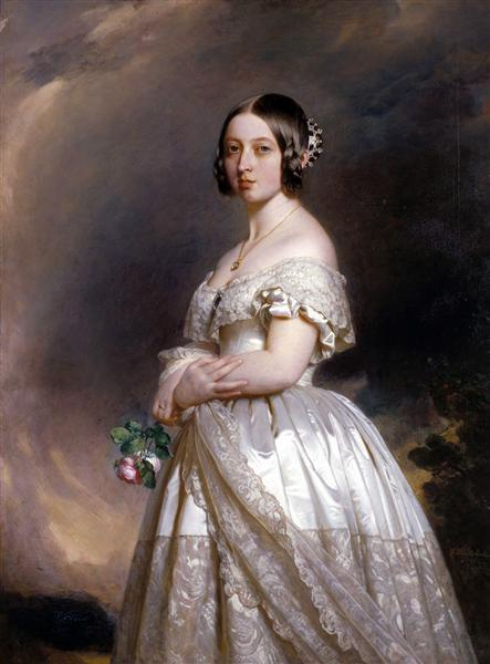 Queen Victoria, 1842 - Franz Xaver Winterhalter