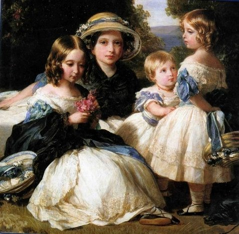 The daughters of Queen Victoria and Prince Albert, 1849 - Franz Xaver Winterhalter