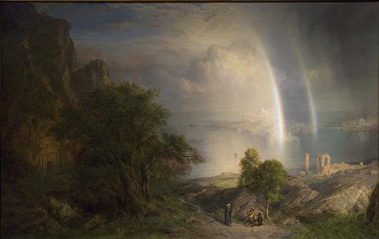 Aegean Sea, 1877 - Frederic Edwin Church