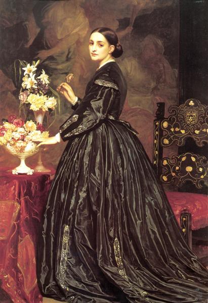 Mrs. Ellinor Guthrie - Frederic Leighton