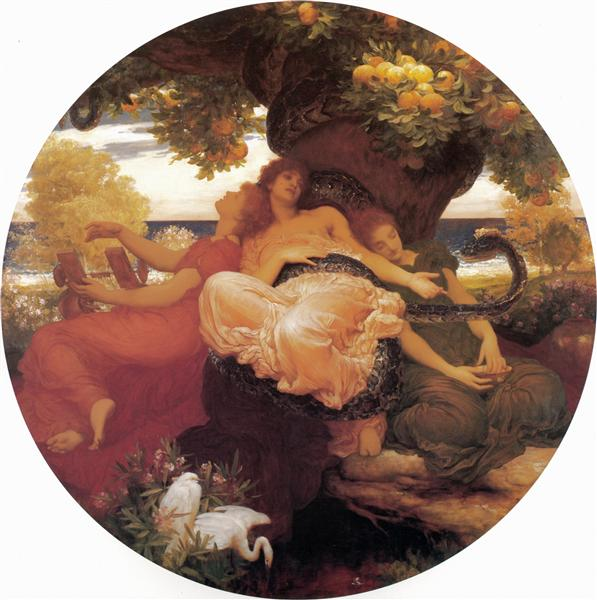 The Garden of the Hesperides - Leighton Frederic