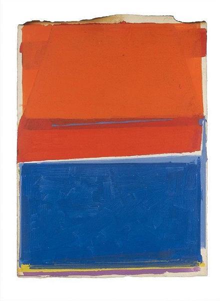 Ohne Titel (For Thomas Merton), 1971 - Frederic Matys Thursz