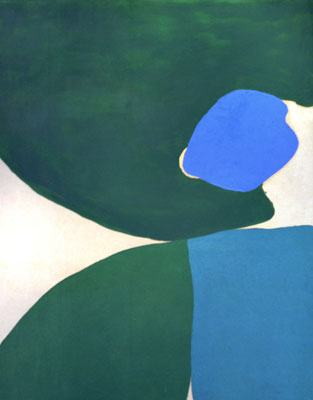 Lone Blue, 1962 - Friedel Dzubas