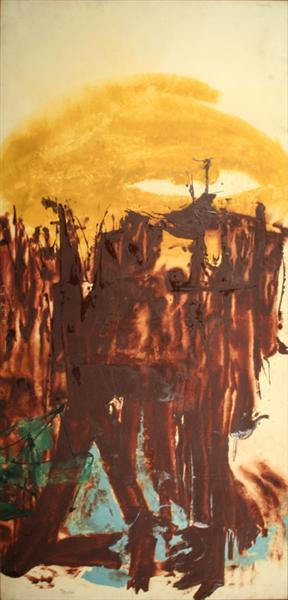 Moonhunt, 1958 - Friedel Dzubas