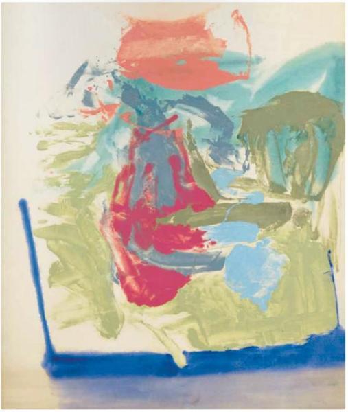 Untitled, 1959 - Friedel Dzubas