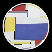 Relational Painting, Tondo #40 - Fritz Glarner