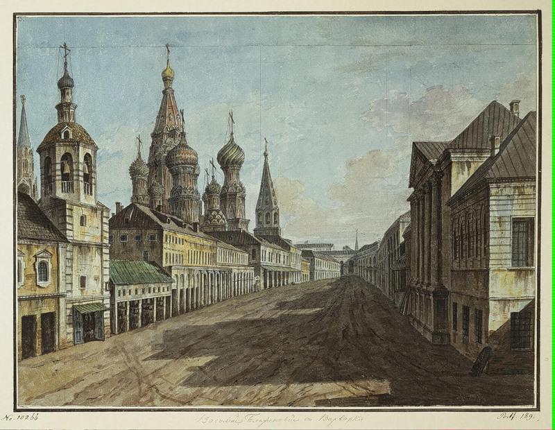 Moskvoretskaya Street, 1805