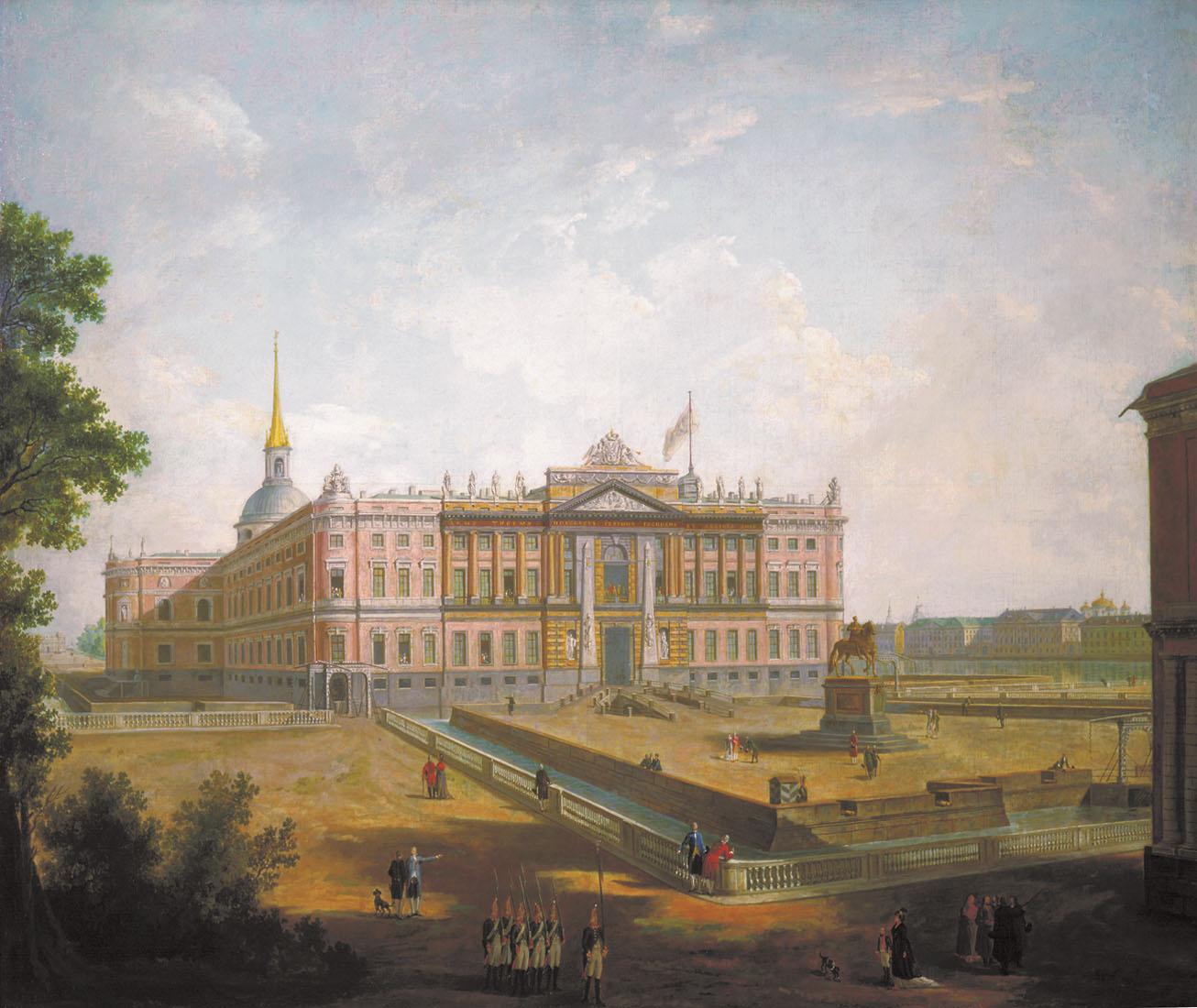 View of Saint Michael's Castle, 1800