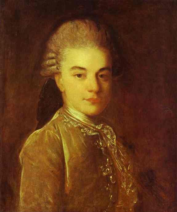 Portrait of A.M.Rimskiy-Korsakov, 1760