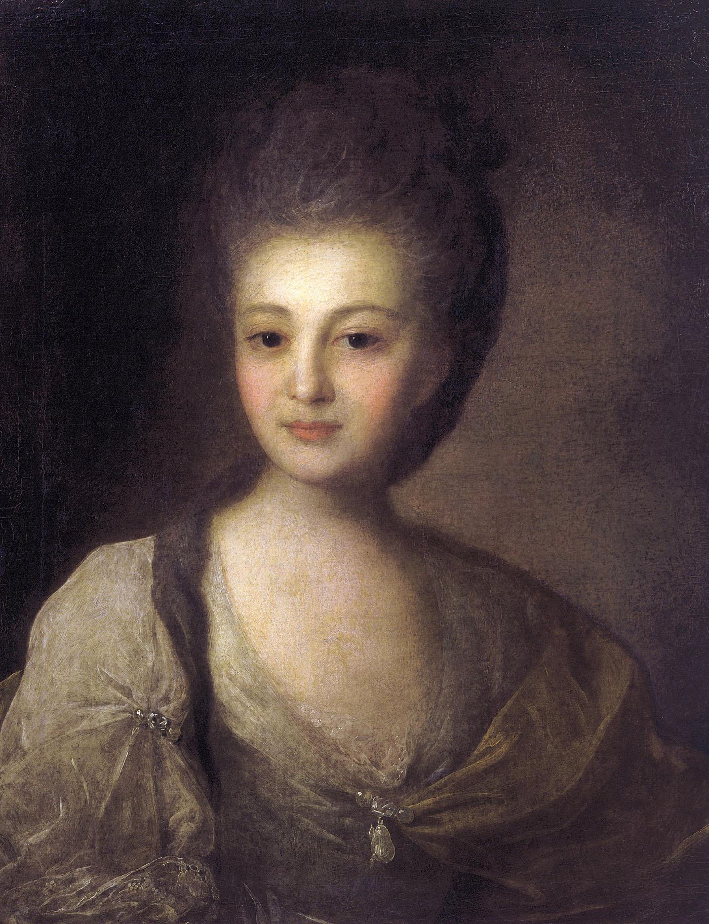 Portrait of Alexandra Struiskaya, 1772