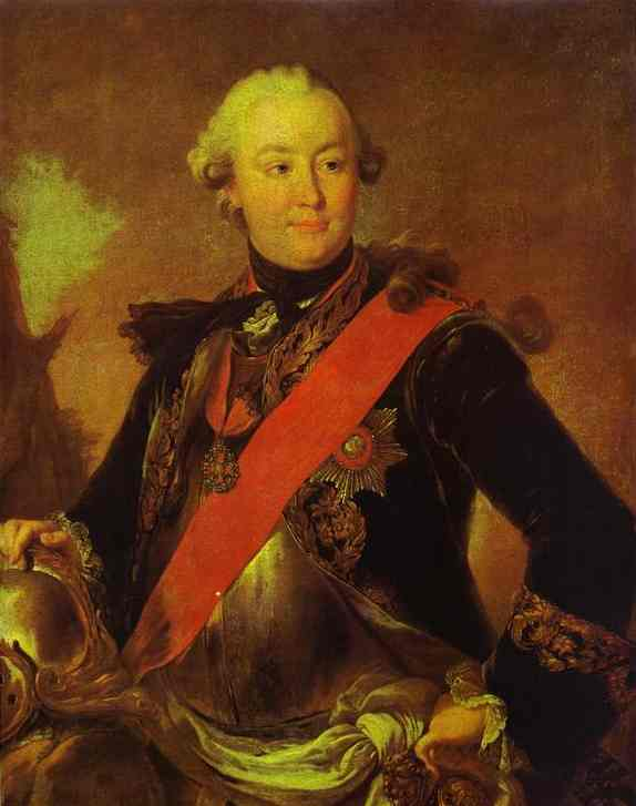 Portrait of Count G.G.Orlov, 1762-1763