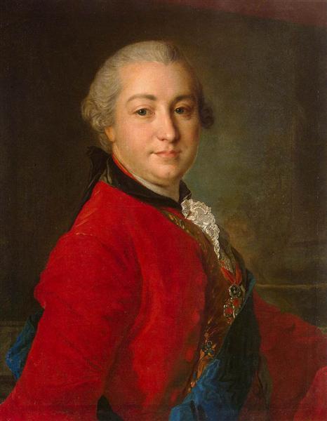 Portrait of Count Ivan Shuvalov, 1760 - Fyodor Rokotov
