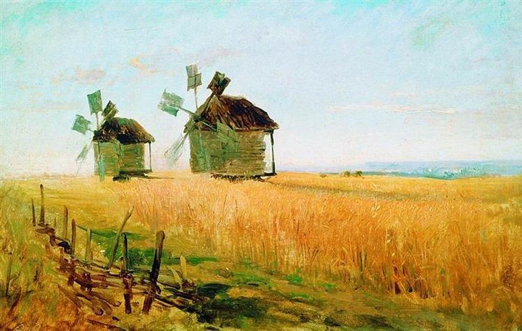 Rye, 1870 - Fyodor Vasilyev