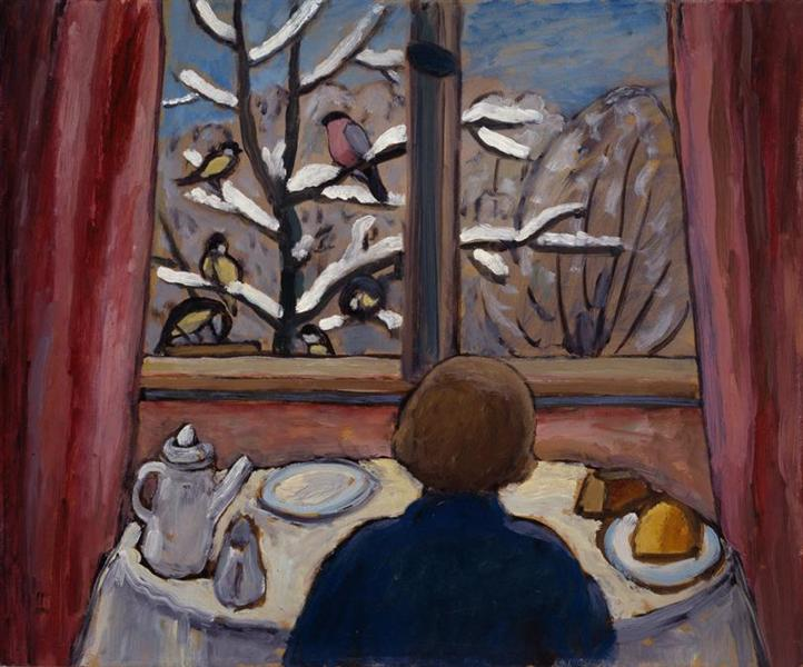 Breakfast of the Birds, 1934 - Gabriele Munter