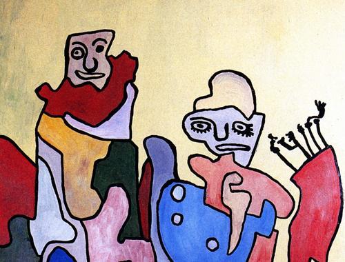 Untitled, 1957 - 1959 - Gaston Chaissac