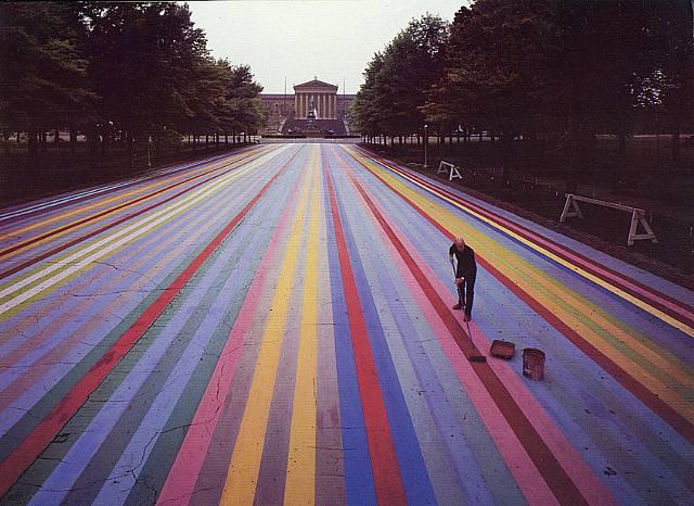 Franklin's Footpath, 1972 - Gene Davis