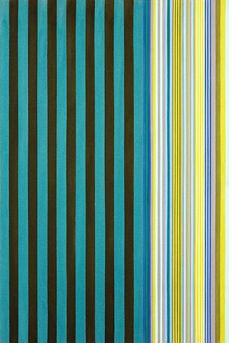 Green Stripes, 1970 - Gene Davis