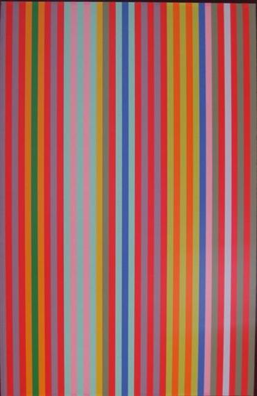 Yoyo, 1969 - Gene Davis