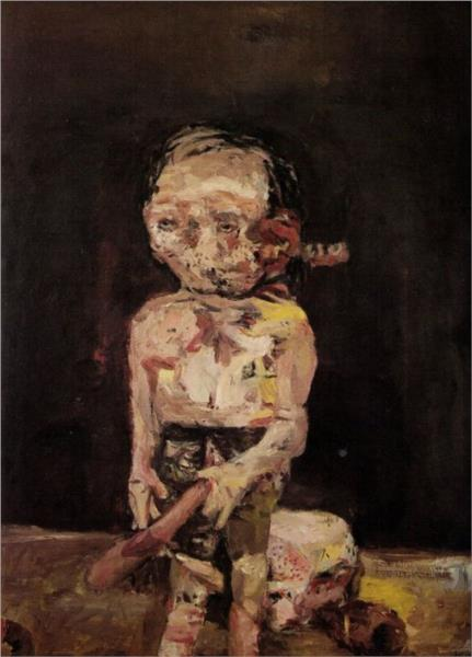 Big Night down the Drain - Georg Baselitz