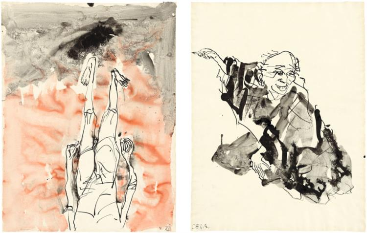 Untitled, 2015 - Georg Baselitz