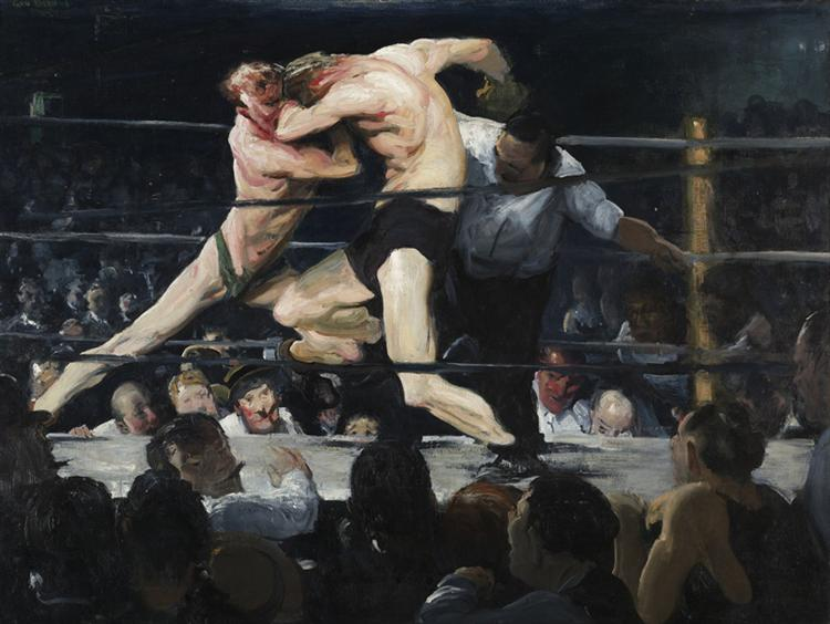 Stag at Sharkey's, 1909 - George Bellows
