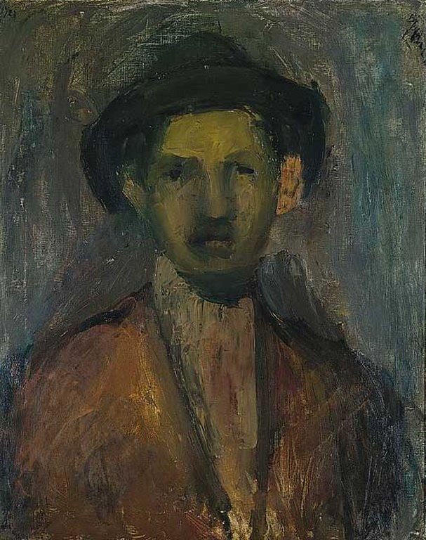 Portrait of the Painter Waldmulle, 1923