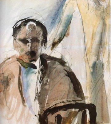 Self Portrait, 1923 - George Bouzianis