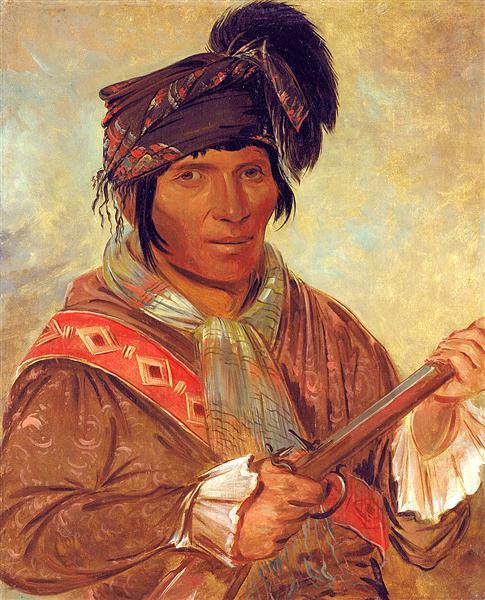 Co-ee-há-jo, a Seminole Chief, 1837 - George Catlin