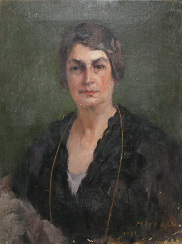 Portrait of a Lady, 1921 - George Demetrescu Mirea
