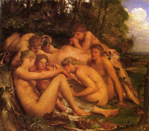 Infancy of Zeus - George Frederick Watts