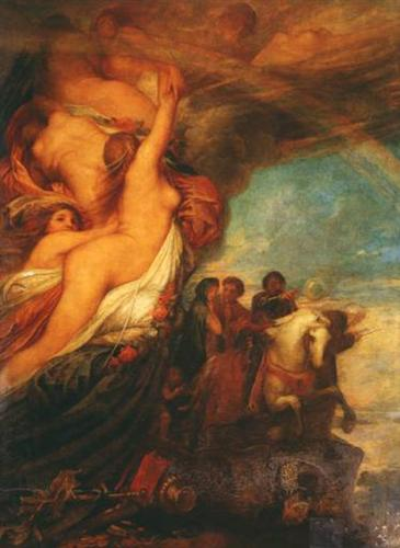 Life's Illusions - George Frederick Watts