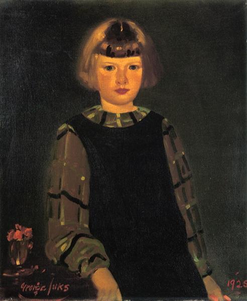 Portrait of Miss Ruth Breslin, 1925 - George Luks
