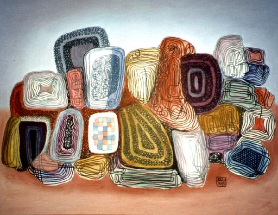 In Search Of A Mirror, 1995 - George Saru