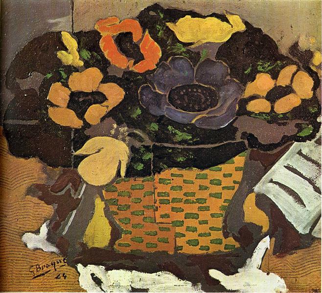 Anemones, 1924 - Georges Braque