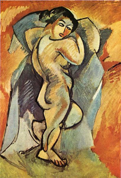 Big Nude, 1908 - Georges Braque