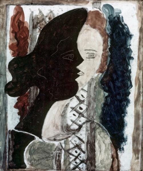 Figure double, c.1937 - Georges Braque