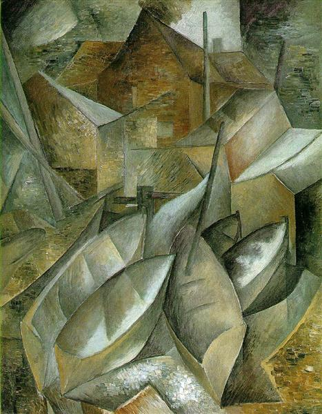 Fishing boats, c.1909 - Georges Braque