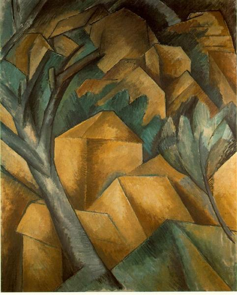 Houses at Estaque - Georges Braque
