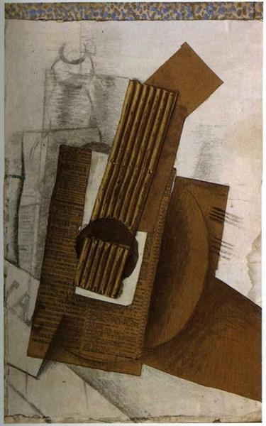 Mandolin, 1914 - Georges Braque