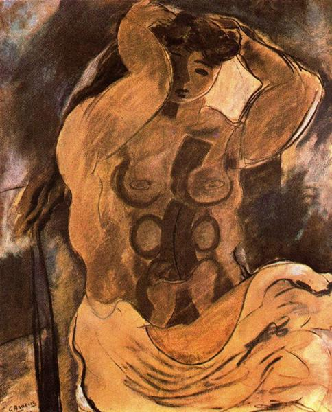 Nude, c.1908 - Georges Braque